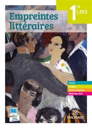 Empreintes littéraires 1re : livre unique