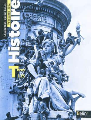 Histoire terminale L, ES : grand format : programme 2012