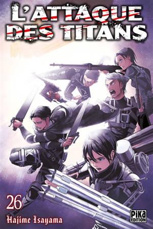 L'attaque des titans. Volume 26