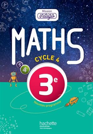 Maths 3e, cycle 4