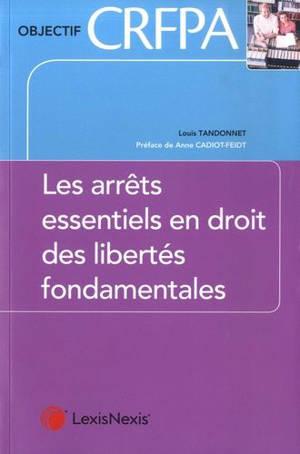 La jurisprudence essentielle des droits de l'homme et libertés fondamentales
