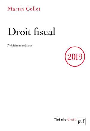 Droit fiscal 2019