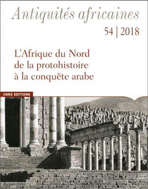 Antiquités africaines. n° 54