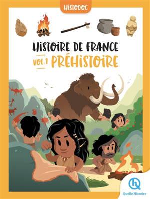 Histoire de France. Volume 1, Préhistoire