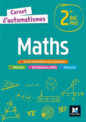 Maths 2de bac pro