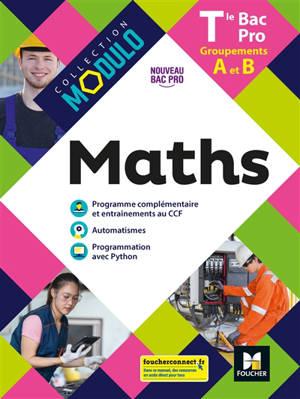 Maths terminale bac pro, groupements A et B : nouveau bac pro