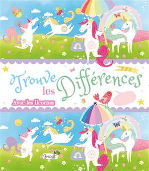 Trouve les différences avec les licornes