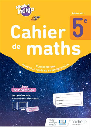 Cahier de maths 5e