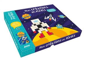 Mes créations en pixels : mission spatiale
