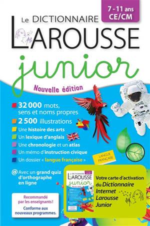 Le dictionnaire Larousse junior, 7-11 ans
