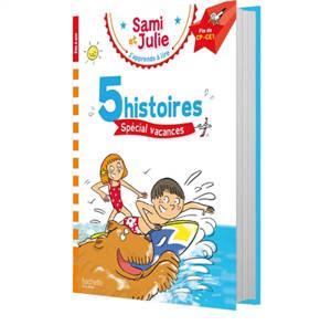 5 histoires spécial vacances : fin CP-CE1