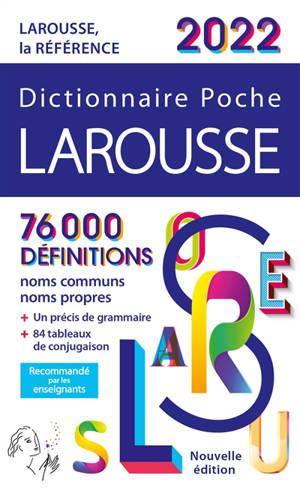 Dictionnaire Larousse poche 2022