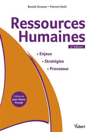 Ressources humaines : enjeux, stratégies, processus