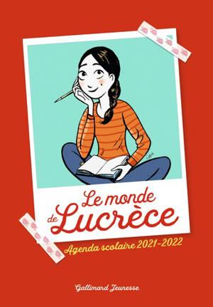 Le monde de Lucrèce : agenda scolaire 2021-2022