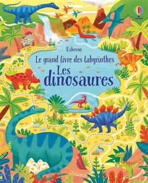 Le grand livre des labyrinthes, Les dinosaures