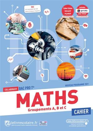 Mathématiques terminale bac pro : cahier