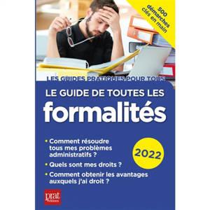 Le guide de toutes les formalités : 2022