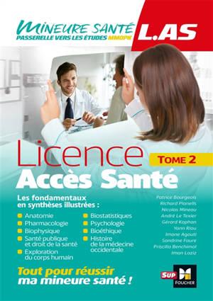Licence accès santé (LAS). Volume 2
