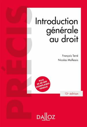 Introduction générale au droit