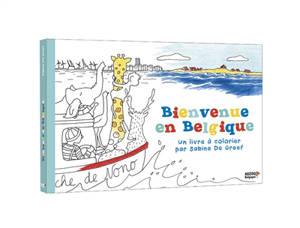Bienvenue en Belgique : un livre à colorier