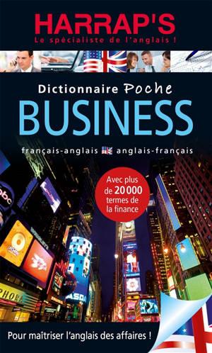 Dictionnaire poche business : français-anglais, anglais-français
