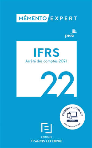 IFRS 2022 : arrêté des comptes 2021-2022