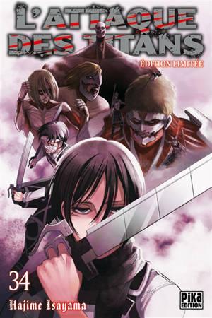 L'attaque des titans. Volume 34