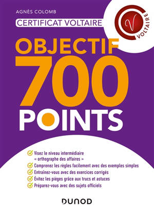 Certification Voltaire : objectif 700 points