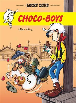Les aventures de Lucky Luke d'après Morris, Lucky Luke vu par Ralf Konig