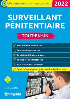 Surveillant pénitentiaire, 2022 : cat. C