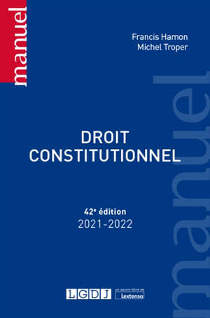 Droit constitutionnel : 2021-2022