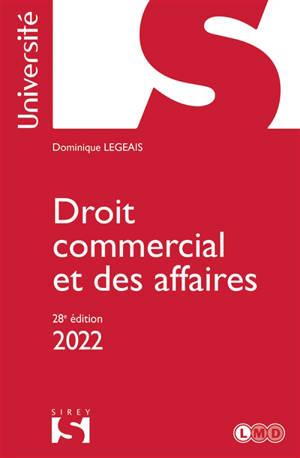 Droit commercial et des affaires : 2022