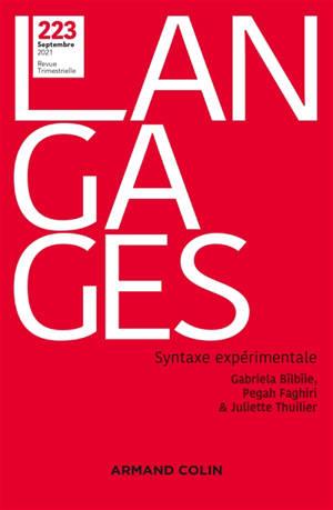 Langages. n° 223