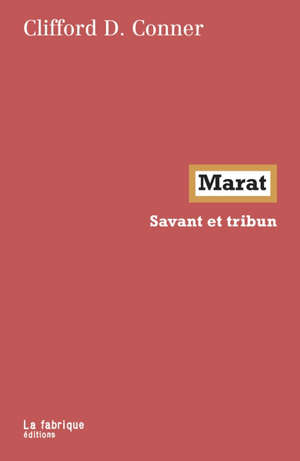 Marat : savant et tribun