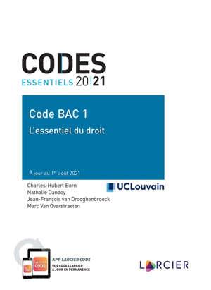 Code bac 1 : l'essentiel du droit 2021