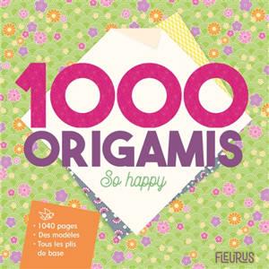 1.000 origamis so happy