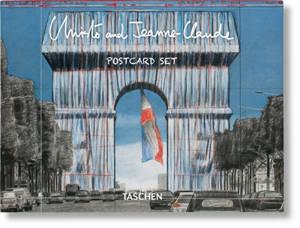 Christo and Jeanne-Claude : l'Arc de triomphe, wrapped : postcard set
