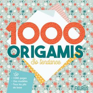 1.000 origamis so tendance