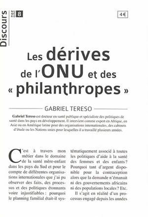 Les dérives de l'ONU et des philanthropes