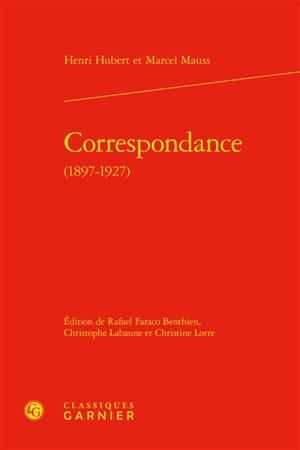 Correspondance (1897-1927)