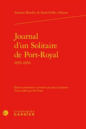Journal d'un solitaire de Port-Royal, 1655-1656
