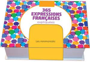 365 expressions & leurs origines