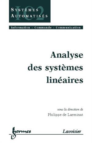 Analyse des systèmes linéaires