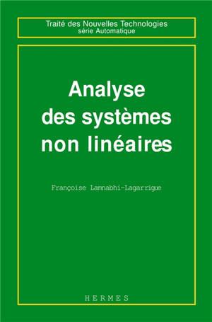 Analyse des systèmes non linéaires