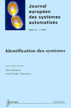 APII-JESA. n° 3 (2002), Identification des systèmes