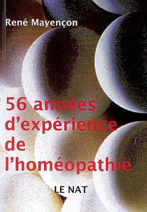 56 années d'expérience de l'homéopathie