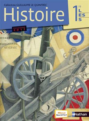 Histoire 1re L, ES, S : programme 2011 : format compact