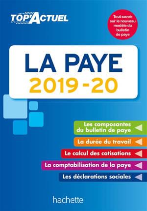 La paye : 2019-20