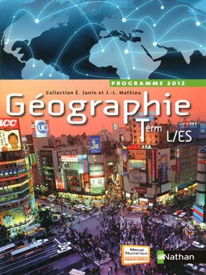 Géographie terminales L-ES : format compact