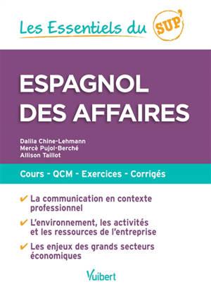 Espagnol des affaires : cours, QCM, exercices, corrigés